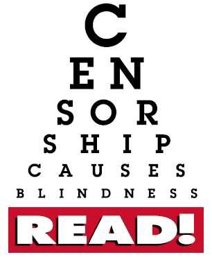 Banned books eyechart