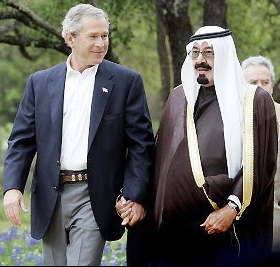 Bush ̲ and ̲ Saudi ̲ crown ̲ prince ̲ abdullah