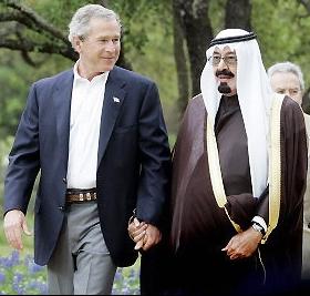 Bush ̲ and ̲ Saudi ̲ crown ̲ prince ̲ abdullah